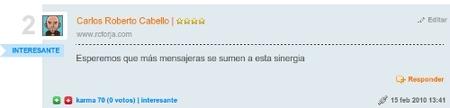 Comentario Url