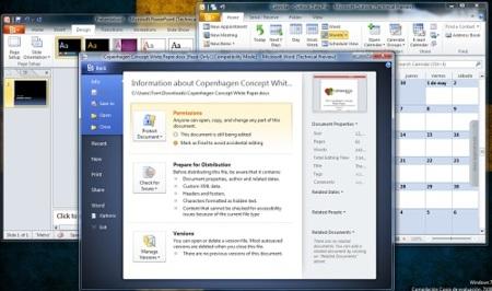 9 de cada 10 usuarios prefieren Office 2010 Beta antes que Office 2007