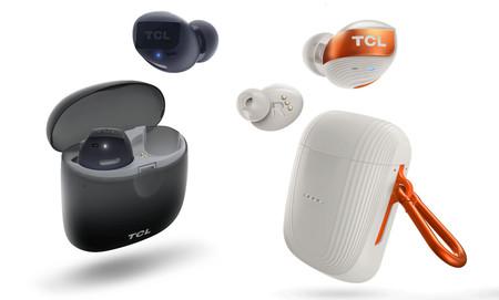 TCL ya tiene nuevos auriculares True Wireless sin cables y compatibles con Siri y con Google Assistant