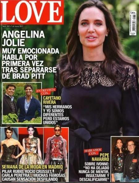 Angelina Jolie, sobre su divorcio