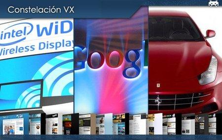 La tecnología WiDi, cambios en la cúpula de Google y el Ferrari FF. Constelación VX (XXXVII)