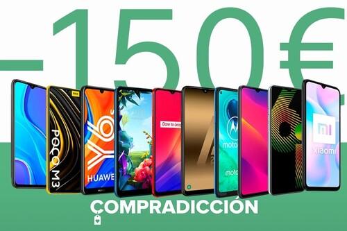 Esta Navidad no gastes más de 150 euros para regalar un smartphone: estos 10 modelos de Huawei, LG, OPPO, realme, Samsung y Xiaomi salen muy baratos