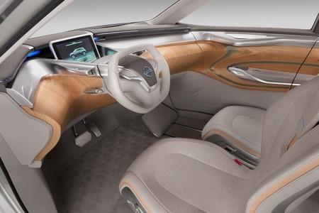 Nissan TeRRa, vista interior