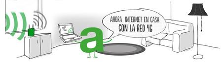 Amena en casa, una oferta para sustituir la línea ADSL en casa