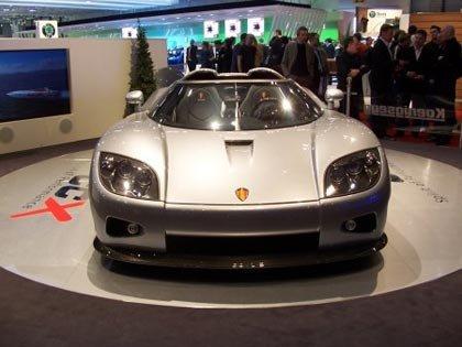 Koenigsegg CCX, debut oficial en Ginebra