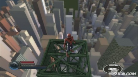 SpiderMan 3 de Wii: horrible