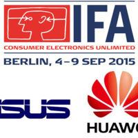 Asus y Huawei en IFA 2015, síguelos en directo en Xataka Android
