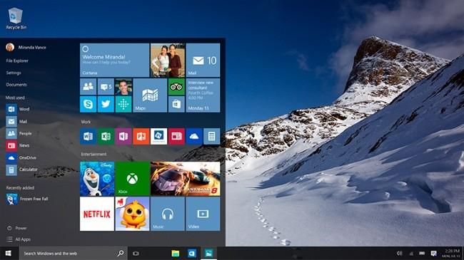 Windows 7 - Magazine cover
