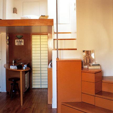 Casas que inspiran estudio d plex de 17 metros cuadrados for Como decorar un estudio de 20 metros cuadrados