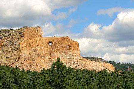 La montaña del jefe sioux