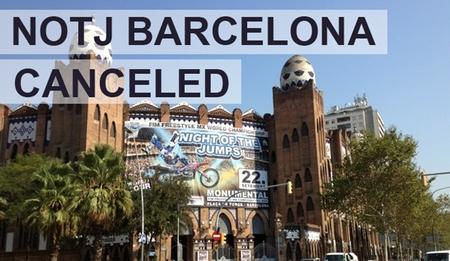 Cancelado el Night of the Jumps de Barcelona de este fin de semana