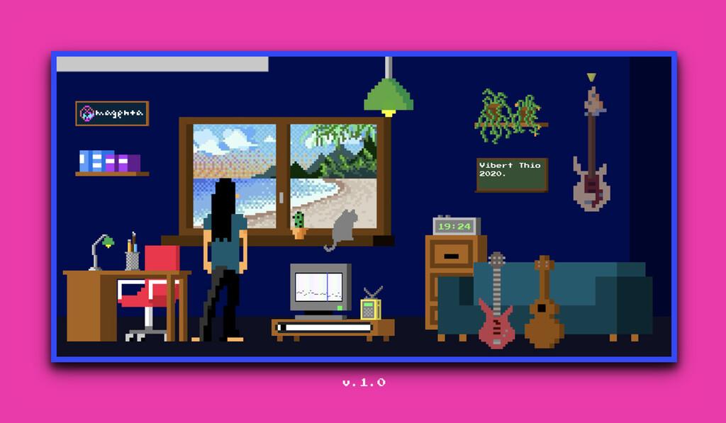 Lo-Fi player es la mezcla perfecta entre diversión y productividad: ideal para concentrarse mejor