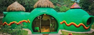 Green Moon Lodge, una sorprendente casa en Costa Rica que nos transporta por un universo de fantasía, en la que te puedes hospedar
