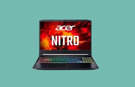 Jugar con una RTX 3060 en un portátil por menos de 1.000 euros es posible con este Acer Nitro 5 en oferta