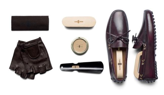 Regalos para un Gentleman Driver - Car Shoe Italia Kit Mocasines para conducir