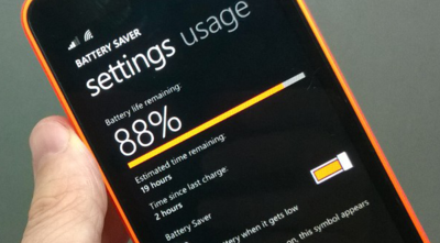 Ahorro de Batería para Windows Phone 8.1 recibe una pequeña actualización