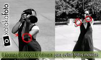 Seis formas de coger la cámara para evitar fotos movidas
