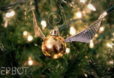 Crea tus propias bolas Snich para adornar el árbol de Navidad