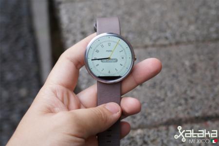Uno de los únicos smartwatch con Android Wear en México, el Moto 360, recibe su gran actualización de Android 5.1