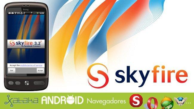 Especial Navegadores en Android: Skyfire