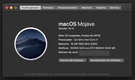Cómo mejorar el renderizado de fuentes en pantallas no-retina con macOS Mojave