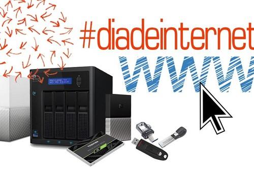 Para el Día de Internet, no te quedes sin capacidad de almacenamiento con los GB y GB de estas memorias y discos duros en oferta