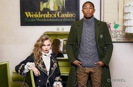 Cara, Pharrell y Chanel. El trio perfecto