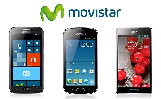 Precios de Samsung ATIV S, Samsung Galaxy Trend y LG Optimus L7 II con Movistar