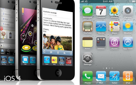 iPhone 4 con iOS 4