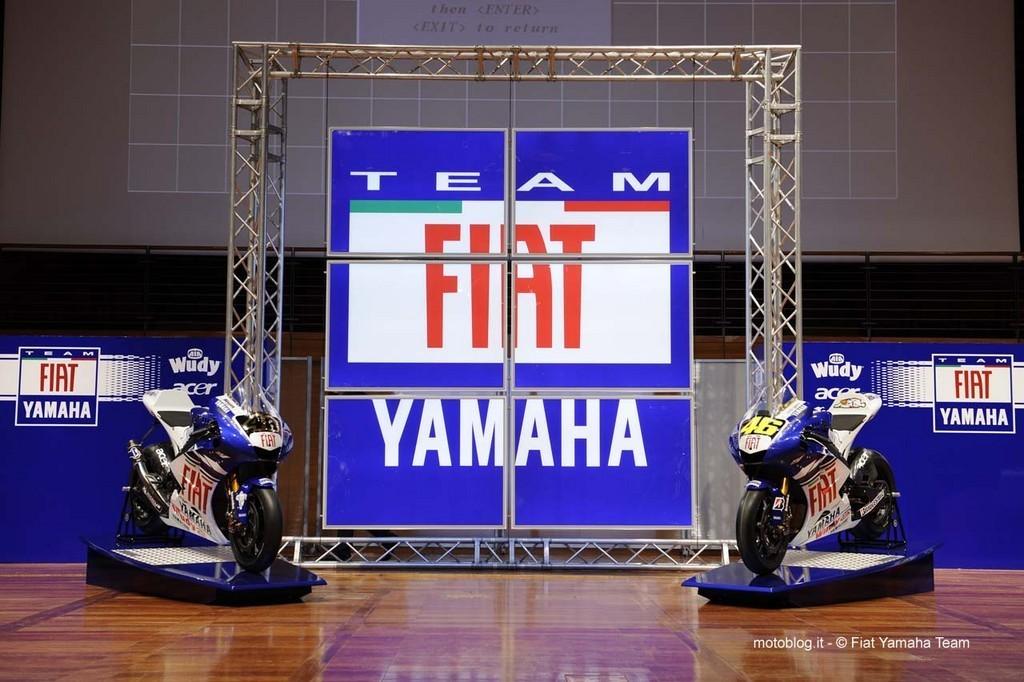 Foto de Team Fiat Yamaha, presentación equipo 2008 (1/11)