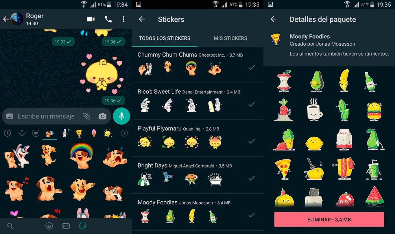 WhatsApp Lanza Su Primer Pack De Stickers Animados