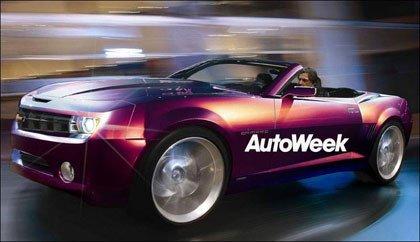 El Camaro Concept Convertible en el salón de Detroit