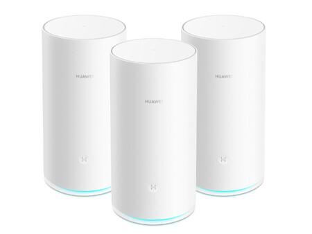 """Huawei WiFi Mesh: el primer router de malla de Huawei aspira a cubrir """"hasta 600 m2"""" y a ofrecer 2.200 Mbps de velocidad"""