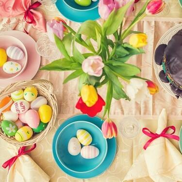 Las mejores ideas para decorar la mesa en Pascua que hemos visto en Instagram