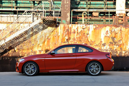 BMW Serie 2 Coupé - vista lateral