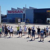 Las protestas por el cierre de Nissan Barcelona, en imágenes