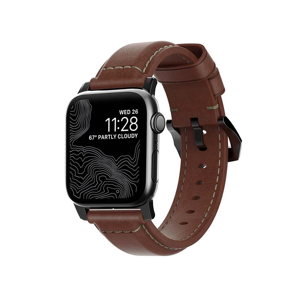 Nomad Traditional Strap Correa Apple Watch 38mm/40mm Marrón