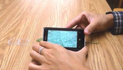 Con una lente de tres céntimos podremos convertir el móvil en un potente microscopio