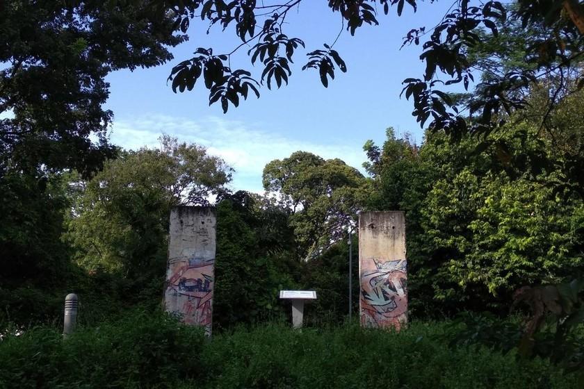 Si vas a Singapur también puedes ver... el muro de Berlín