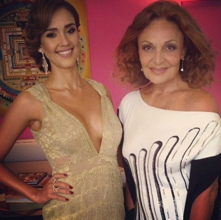 Jessica Alba MET gala 2014 DVF