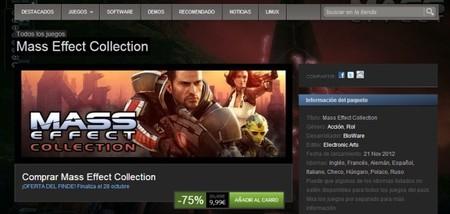 Los dos primeros 'Mass Effect' juntos por menos de 10 euros en Steam
