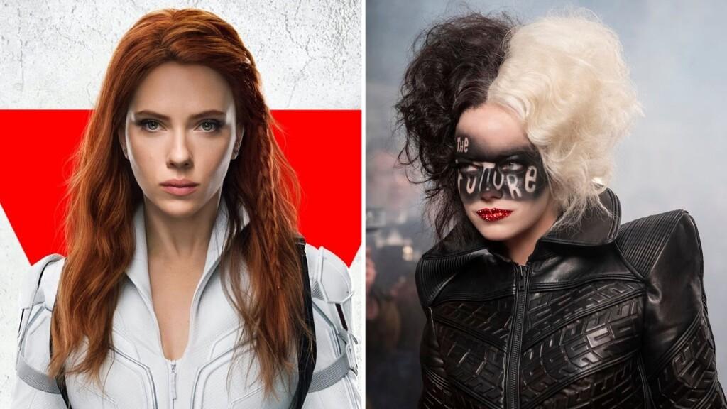Disney rehace su plan de estrenos para 2021 y sigue los pasos de Warner, estrenando 'Viuda Negra' y 'Cruella' en salas y Disney+