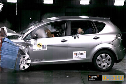 SEAT Altea - EuroNCAP