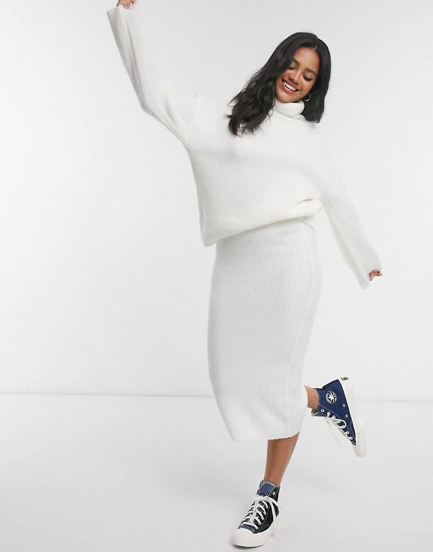 Conjunto falda y jersey Asos Design