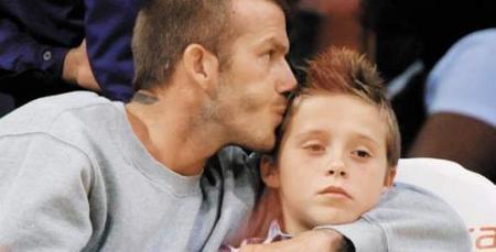 Los Beckham, educando a sus hijos por Skype