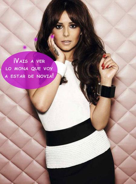 Cheryl Cole, menos mal que te tenemos a ti para ir de boda...