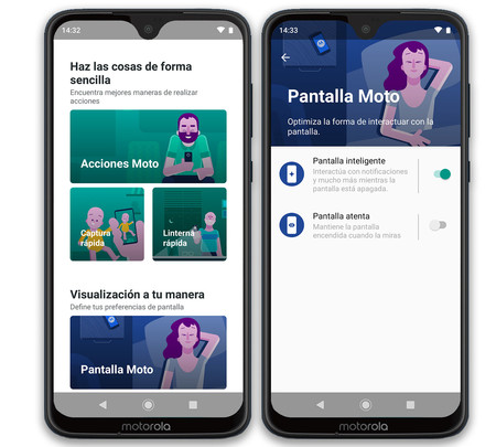 Moto G7 Plus Apps Propias