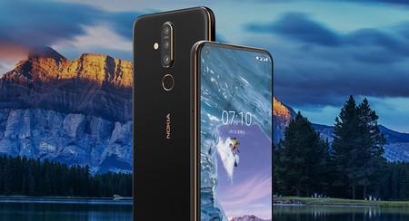 Nokia X71, el primero con pantalla perforada también tiene cámara triple