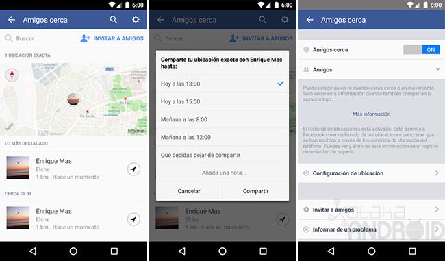 Facebook Amigos Cerca