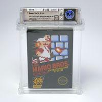Una copia sellada del clásico Super Mario Bros. se ha vendido por un precio de récord: más de 100.000 dólares